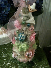 Shabby Pixie Pastel Rainbow Bottle Brush Tree