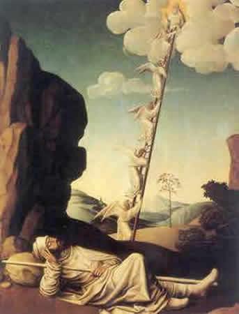 Jesús creía en la Escala de Jacob La-escalera-de-jacob
