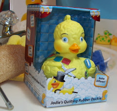 Jodie&#39;s Quilting Rubber Duckie
