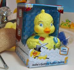 Jodie's Quilting Rubber Duckie