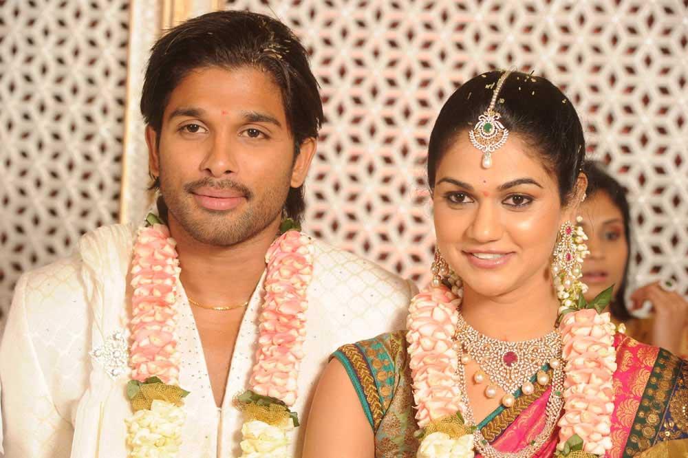 Allu arjun marriage photos slideshow programs