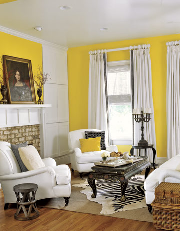 colorelectric monochromatic colors yellow love. Black Bedroom Furniture Sets. Home Design Ideas