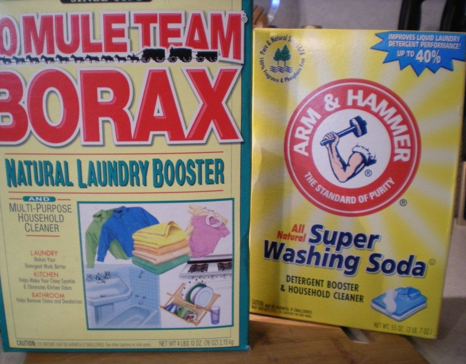 Why Not Sew How To Make Homemade Laundry Detergent