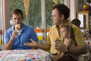 Don't let the ice cream and young child fool you; this is war