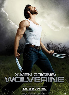 The French poster for Wolverine is absolutely ridiculous, as you can see. Is this Wolverine's origin told in musical form?