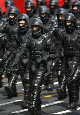 Peruvian Anti-Riot Police Uniforms