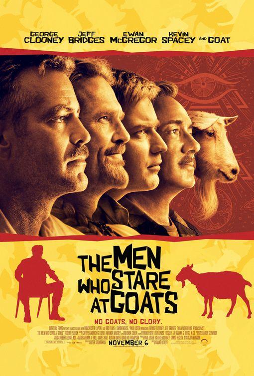 Männer die auf Ziegen starren kostenlos anschauen
