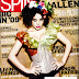 Lily Allen in Spin Magazine Cover Girl - February 2009