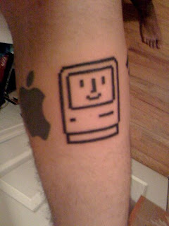 tatoo mac tatuagem apple