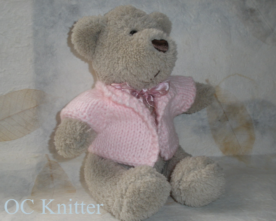 OC Knitter: Bear Sweater Pattern