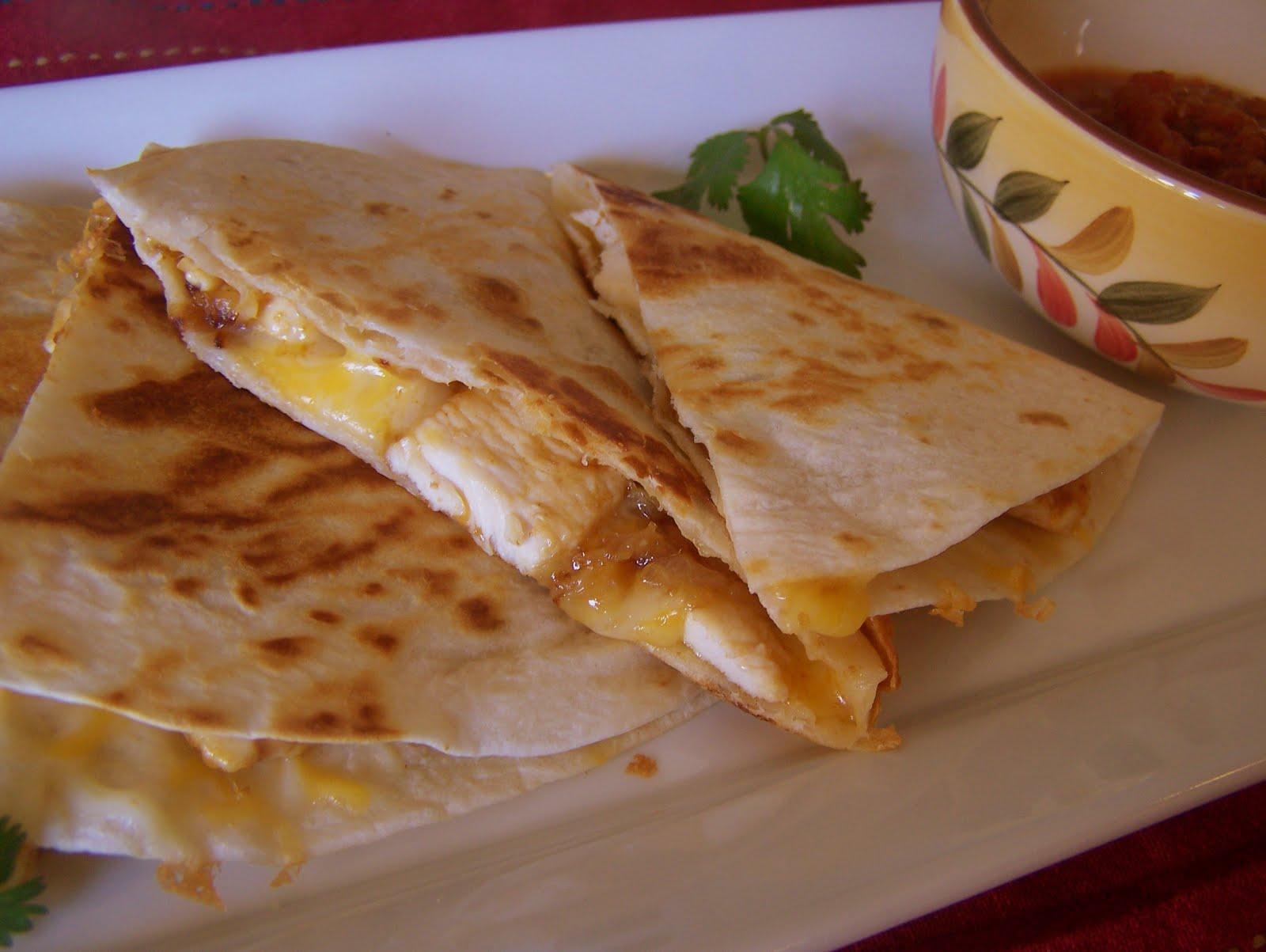 Chicken Quesadillas Recipe — Dishmaps