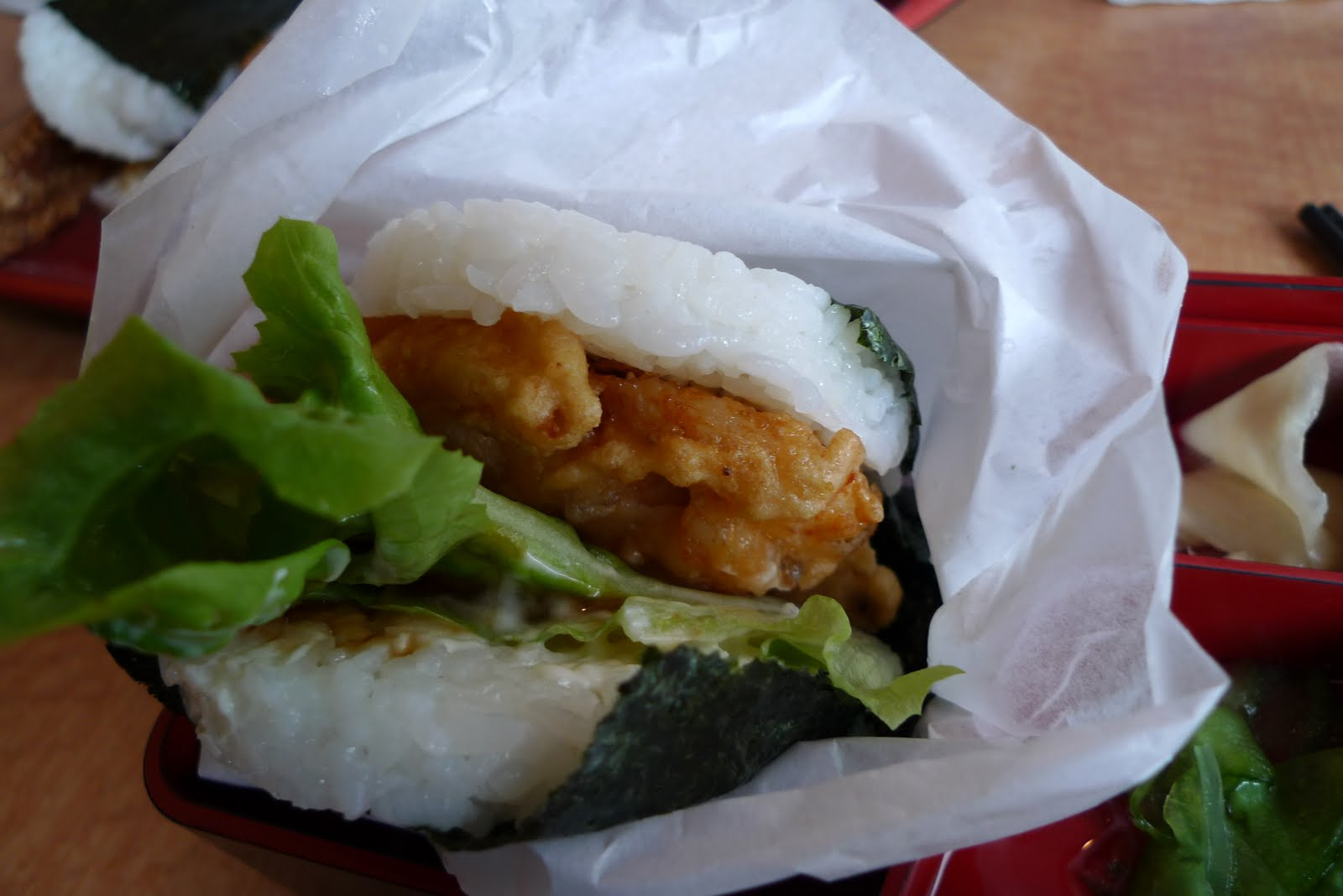 jun remainder of katsus california roll burger oct sustainable sushi