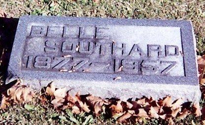 Belle Luckett Southard's stone