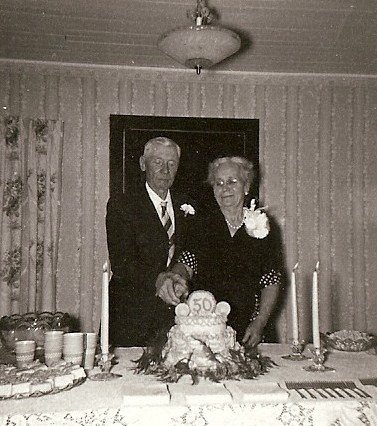 Aunt Susan Southard Chapman's 50th Wedding Anniversary