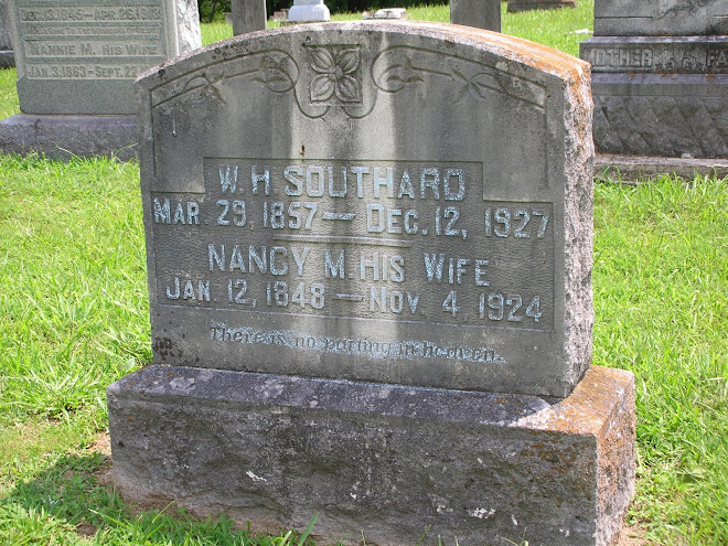 Willis Hickman Southard & Nancy Mary Hocker Southard