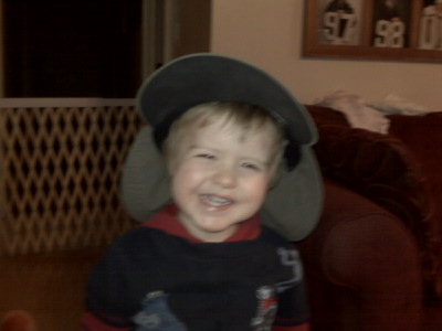 [Ethan+in+Grandpa's+Hat]