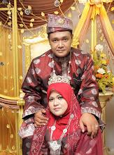 Selamat pengantin baru kepada Puan Amikalsom ( x-admin BMQ) bersama suaminya.