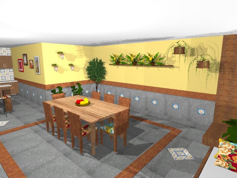 projeto churrasqueira