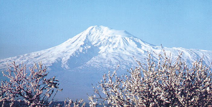 Mt. Ararat, Turkey.
