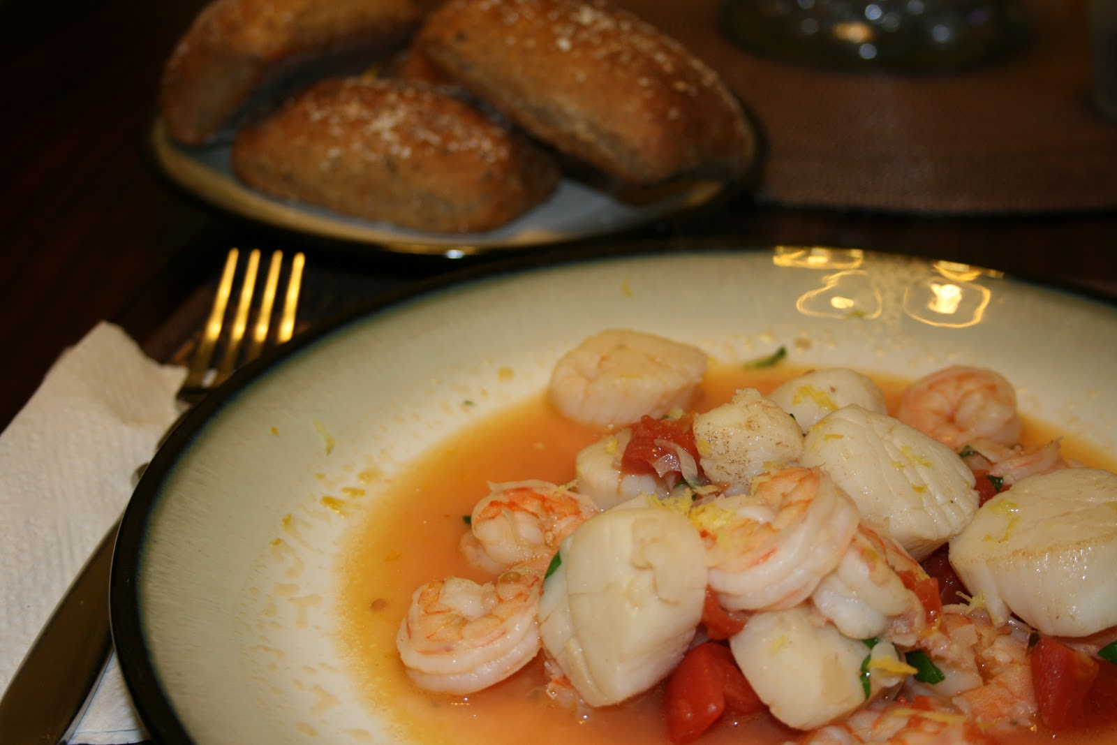 http://www.food.com/recipe/shrimp-and-scallop-scampi-101703