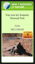 Vote now for Komodo National Park