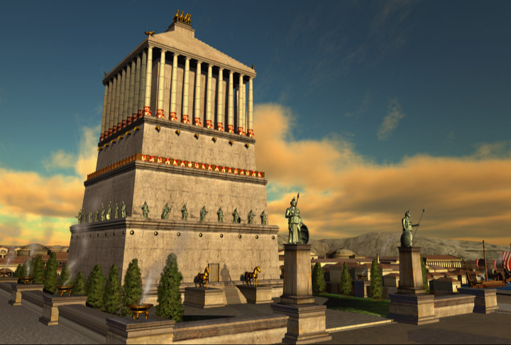 or Mausoleum of Halicarnassus was