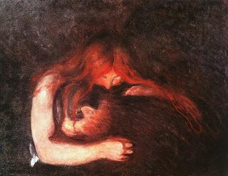 Edvard Munch - Vampiro