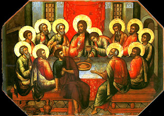 Jesus Christ last supper with his 12 apostles hd(hq) wallpaper free download religious pictures and Christian PPT templates for free