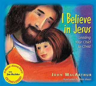 Jesus Christ with Children drawing art picture on the cover page of  I Believe in Jesus Leading your child to Christ Free religious Christian image