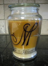 Monogrammed Candle $12