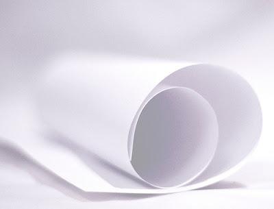 Pensare in un 39 altra luce essere per l 39 altro un foglio di - Foglio laminato bianco ...
