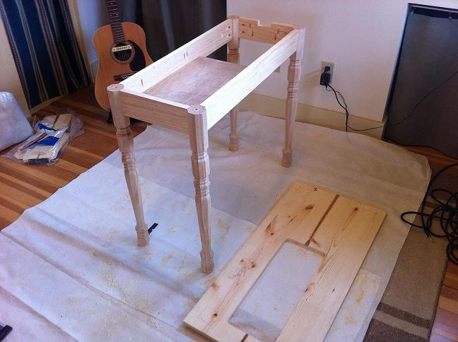 Custom Made Sewing Table Quilting In The Rain Simple Custom Sewing Machine Table