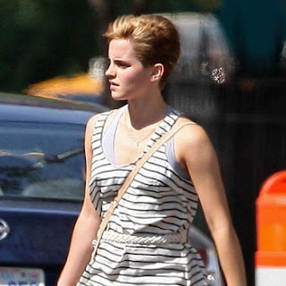 Emma watson haircut