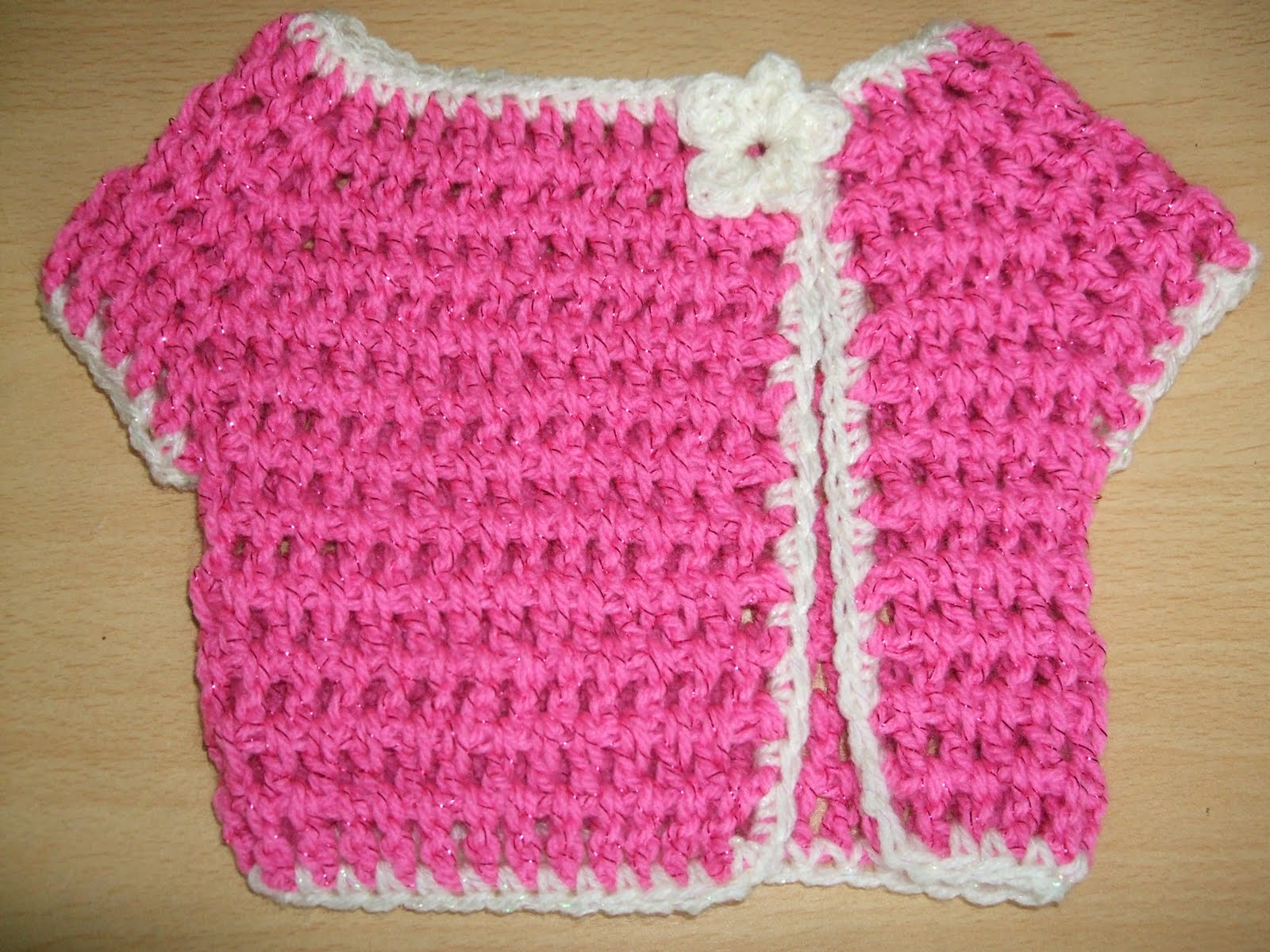 Channelles Crochet creations: Japanese Style Baby Jacket