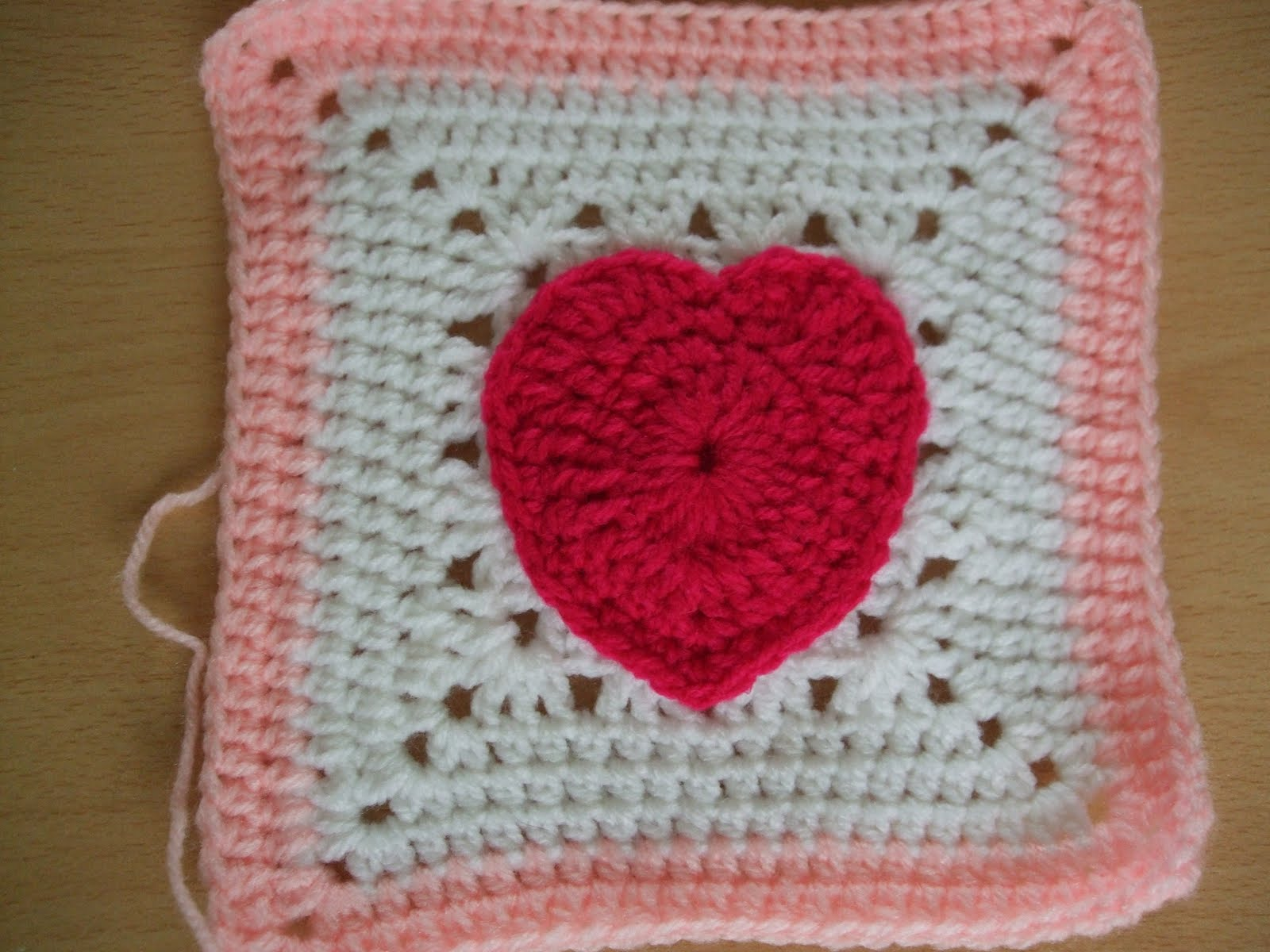Crochet Granny Square Heart Patterns : Channelles Crochet creations: My Granny Squares