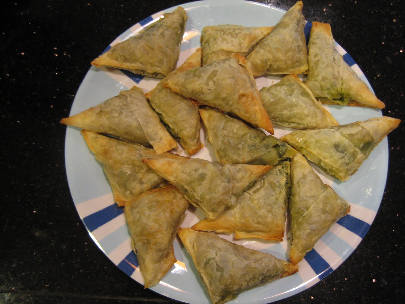 spanakopita triangles + then some | smitten .