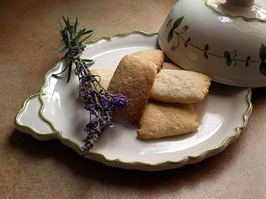 I biscotti alla lavanda!! Foto di Andrea Mangoni.