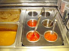 Satay Sauce - Hot Sauce - Rojak Sauce In A Steamer
