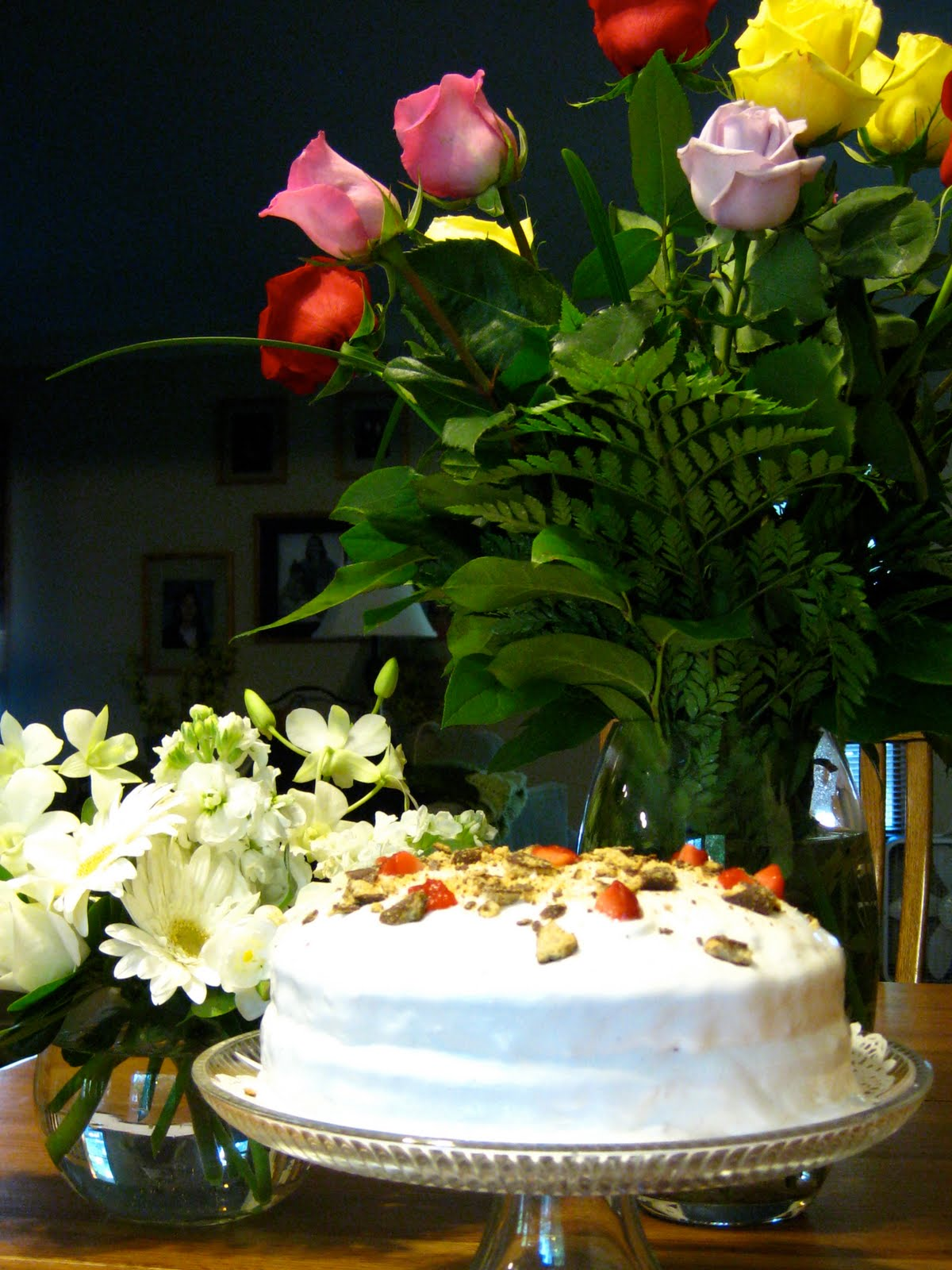 Coffeebeans dailies my birthday flowers and cake my birthday flowers and cake izmirmasajfo