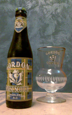 Cerveza Gordon fines Scotch