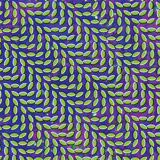 ilusión óptica animall collective merriweather