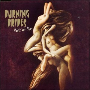 ilusión óptica portada disco burning brides