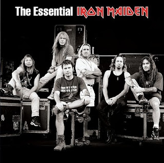 Portada Iron Maiden essential