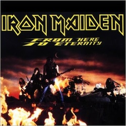 Portada Iron Maiden from here to eternity