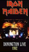 Portada Iron Maiden donington live