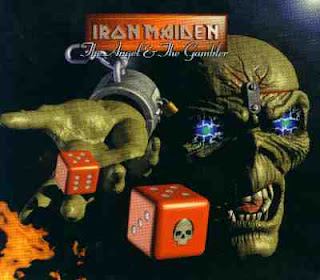 Portada Iron Maiden the angel and the gambler