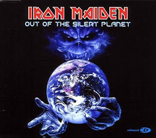 Portada Iron Maiden out of the silent planet