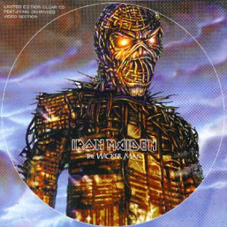 Portada Iron Maiden the wicker man coleccionista