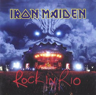 Portada Iron Maiden rock in rio