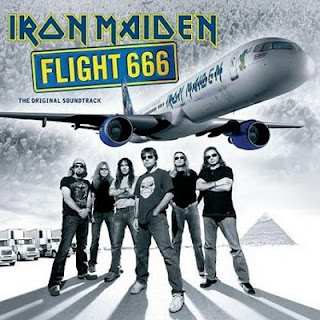 Portada Iron Maiden fligth 666
